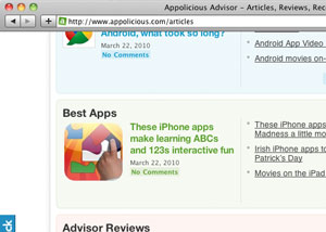 Best Apps List (Appolicious)
