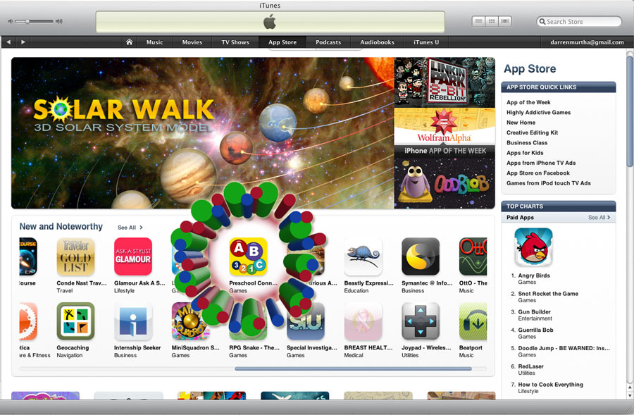 New and Noteworthy! (iPhone App for Kids)